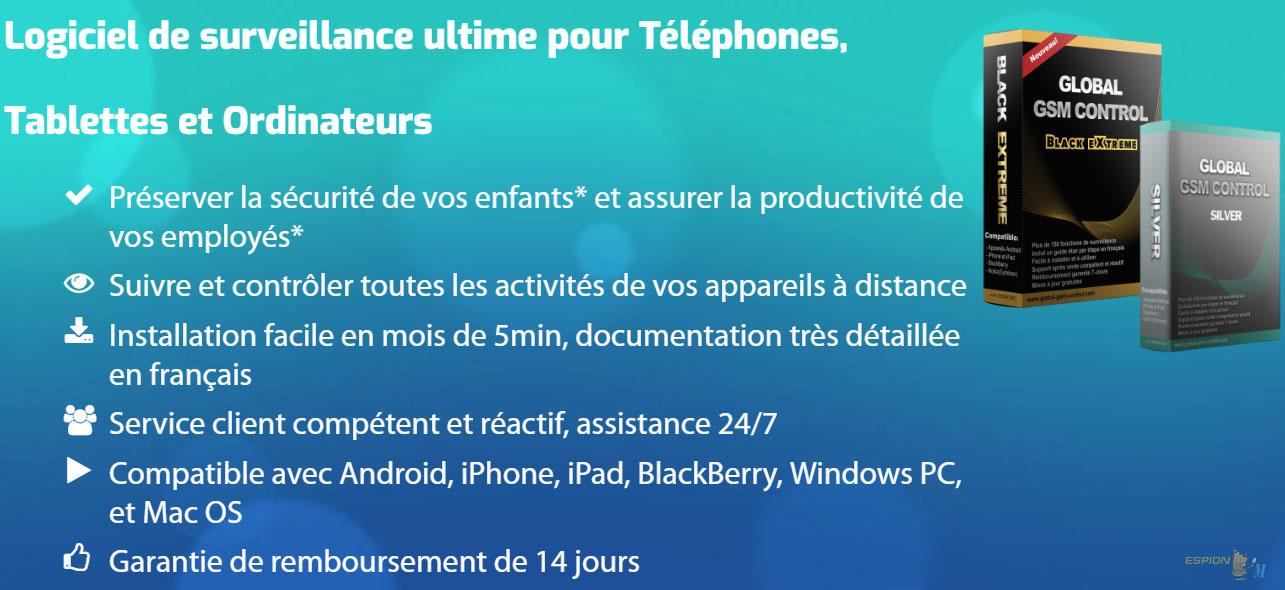 savoir si logiciel espion iphone
